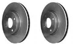 Volvo 850 (92-93) (with 4 stud hub) Front Brake Discs (Pair)